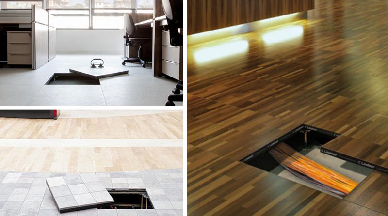 Raised Floors And Laminate Floors